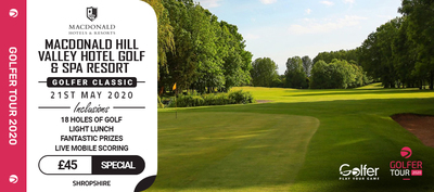 Macdonald hill valley golf club golfer classic