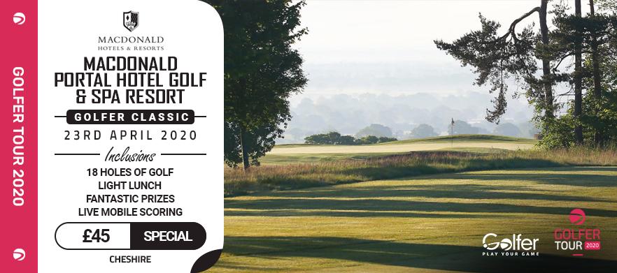 Macdonald portal golf club golfer classic