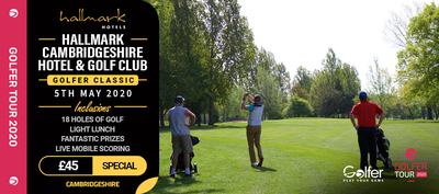 Cambridge hotel golf club golfer classic