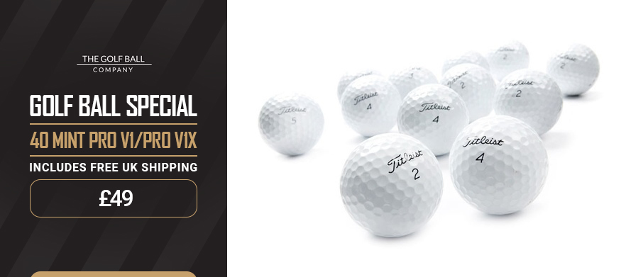 Lost golf balls uk