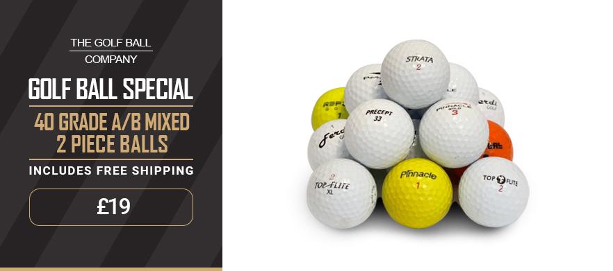 Golf deals group 2 piece balls
