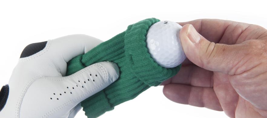 Hand sleeve green
